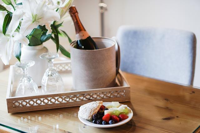 Mon Ti' Boutèy champagne et dessert