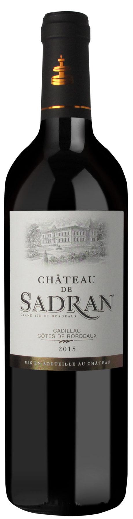 Château Sadran bouteille