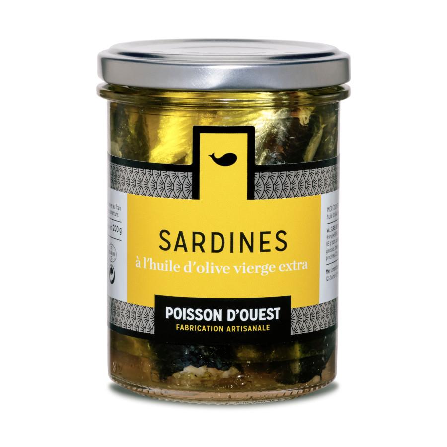 Sardines à l'huile d'olive vierge Mon Ti' Boutèy l'Épicerie