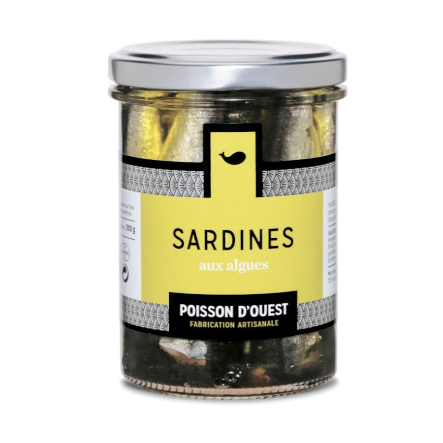 Sardines aux algues Mon Ti' Boutèy ll'Épicerie