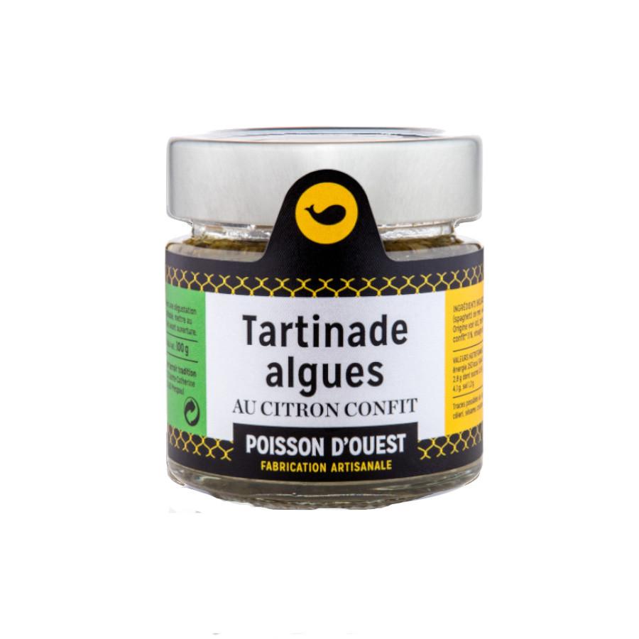 Tartinade algues citron confit Mon Ti' Boutèy l'Épicerie