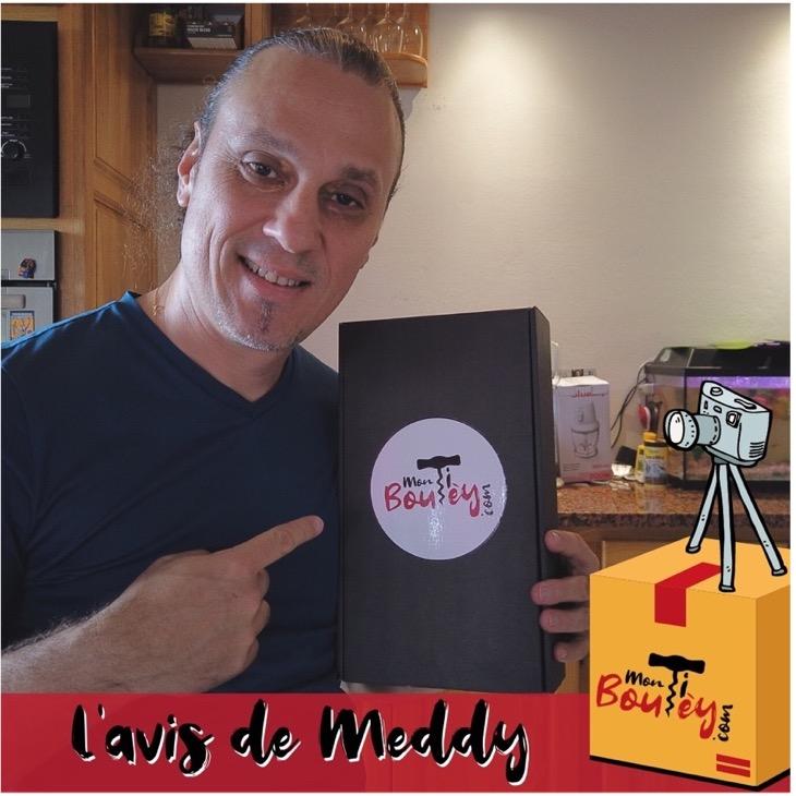 Photo de Meddy Gerville et la box Mon Ti' Boutèy
